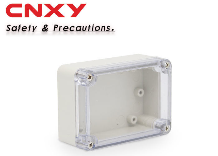 IP65 electronic ABS plastic junction box 83*58*33mm transparent  junction box